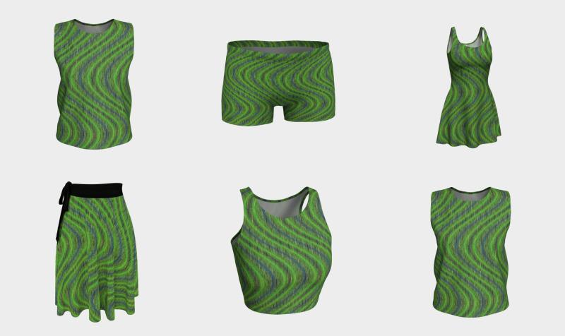 Aperçu de Green Shift - Pastel Shades Design