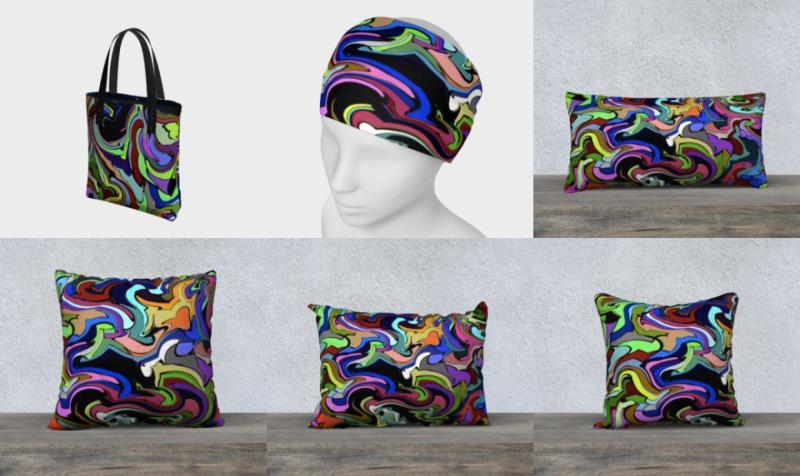 Aperçu de Dragon - Abstract Art Design