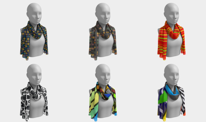 Saucy Scarves preview