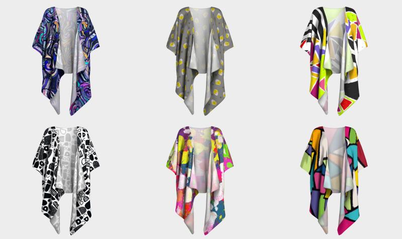 Kick A** Kimono Cardigans preview
