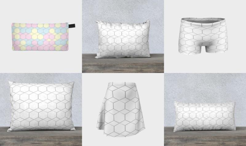 Honeycomb Diamond pattern preview