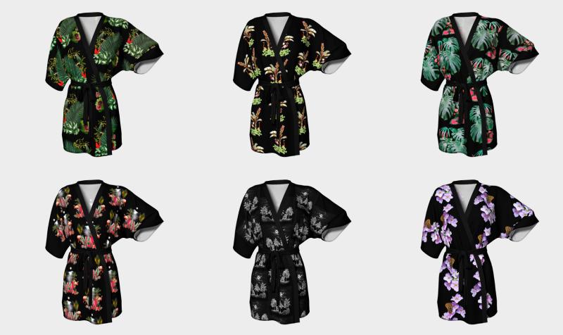 melangerie kimono preview