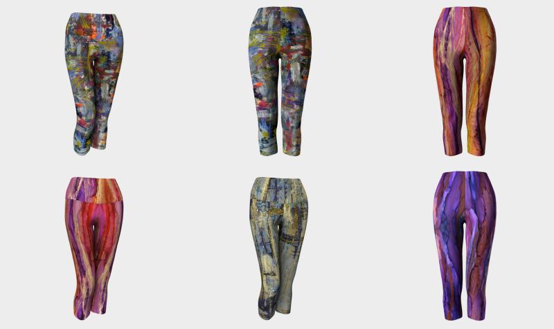 PaminOttawa Leggings - Capri Yoga preview