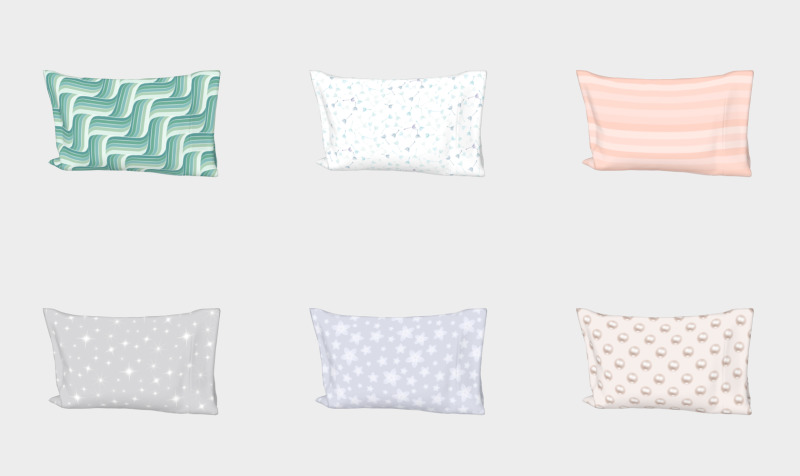Bed pillowcases preview