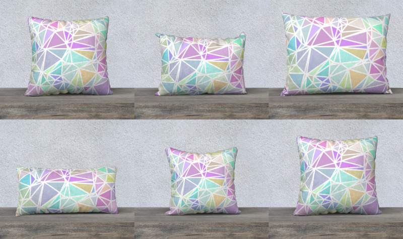 Boho Pastel Stained Glass preview