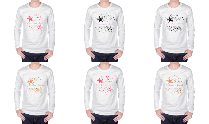 STARS AND SAND UNISEX LONG SLEEVE TSHIRT preview