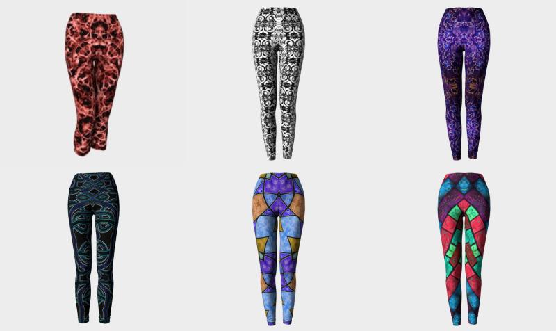 Aperçu de Leggings, Yoga Leggings & Capris