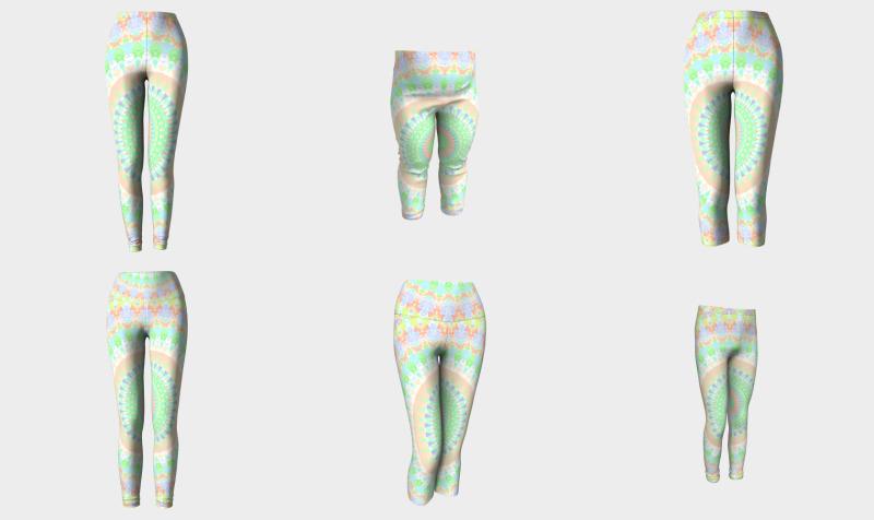 Colorful Groovy Geometric Mandala preview