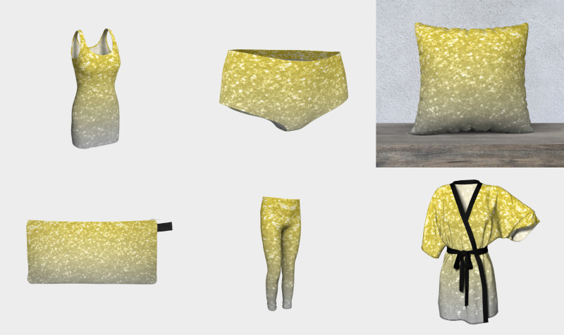 Light ultimate grey illuminating yellow sparkles preview