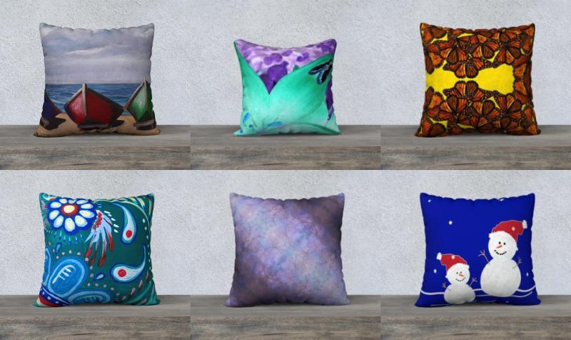 Aperçu de Non Mosaic Pillows