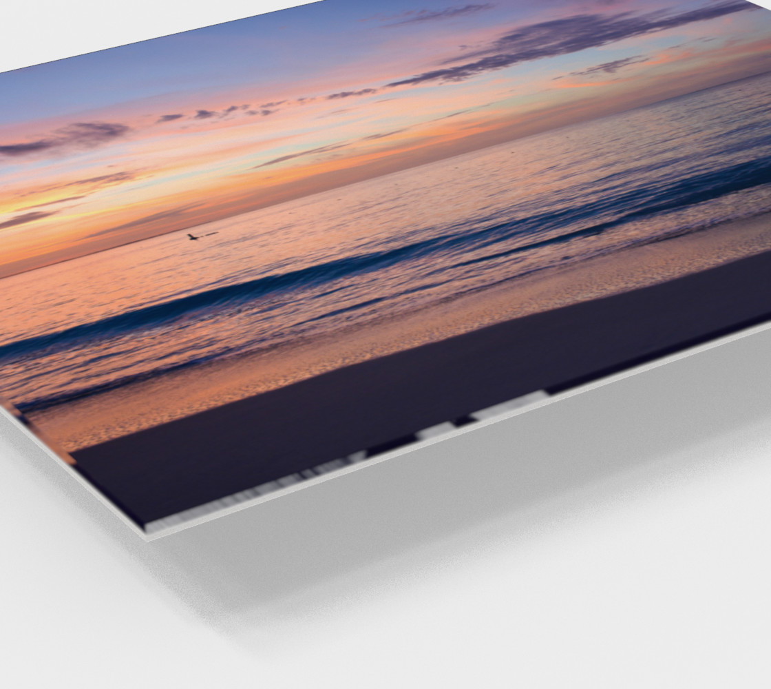 Grace Bay Sunset Wall Art Miniature #3
