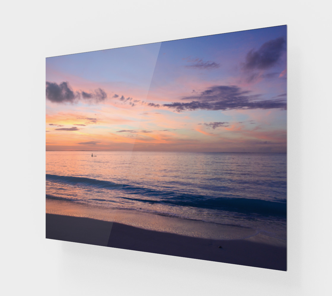 Aperçu 3D de Grace Bay Sunset Wall Art