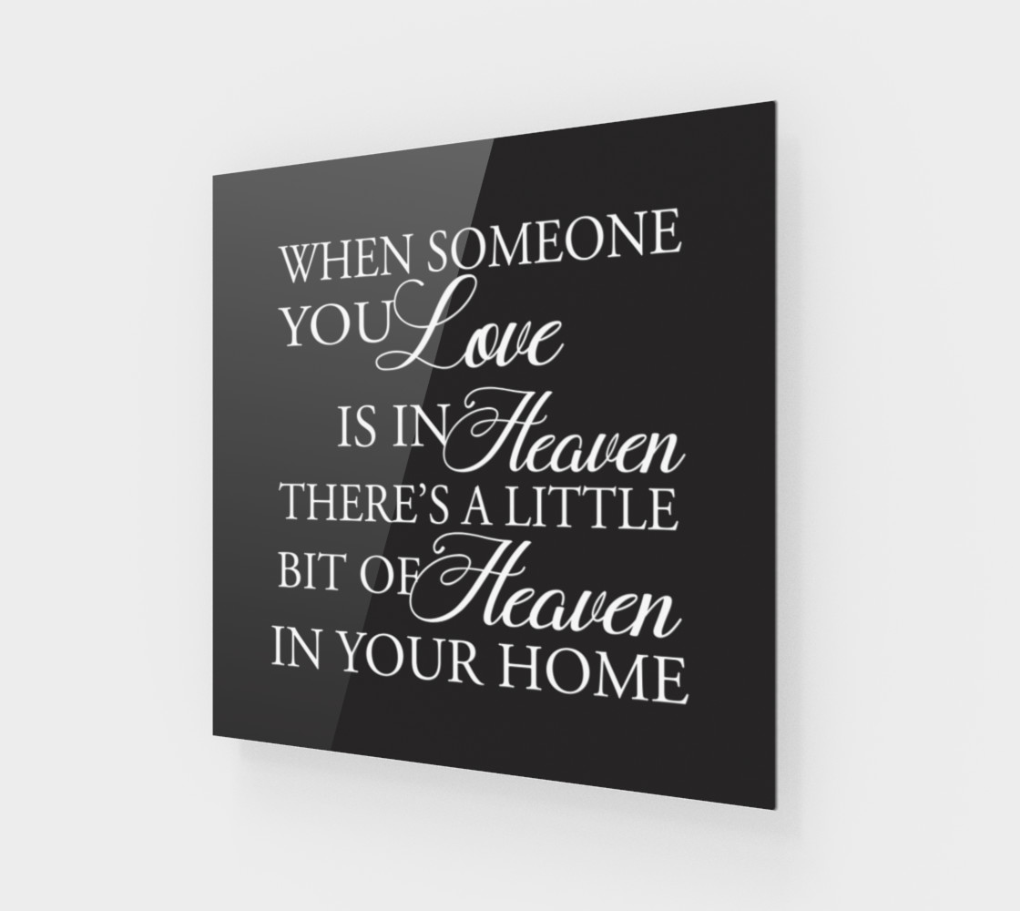 Aperçu de When someone you love is in Heaven #1