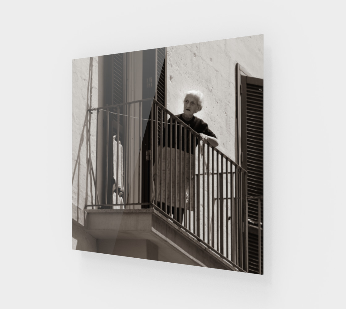 Utterly Italy Matera Woman 24x24 preview #1