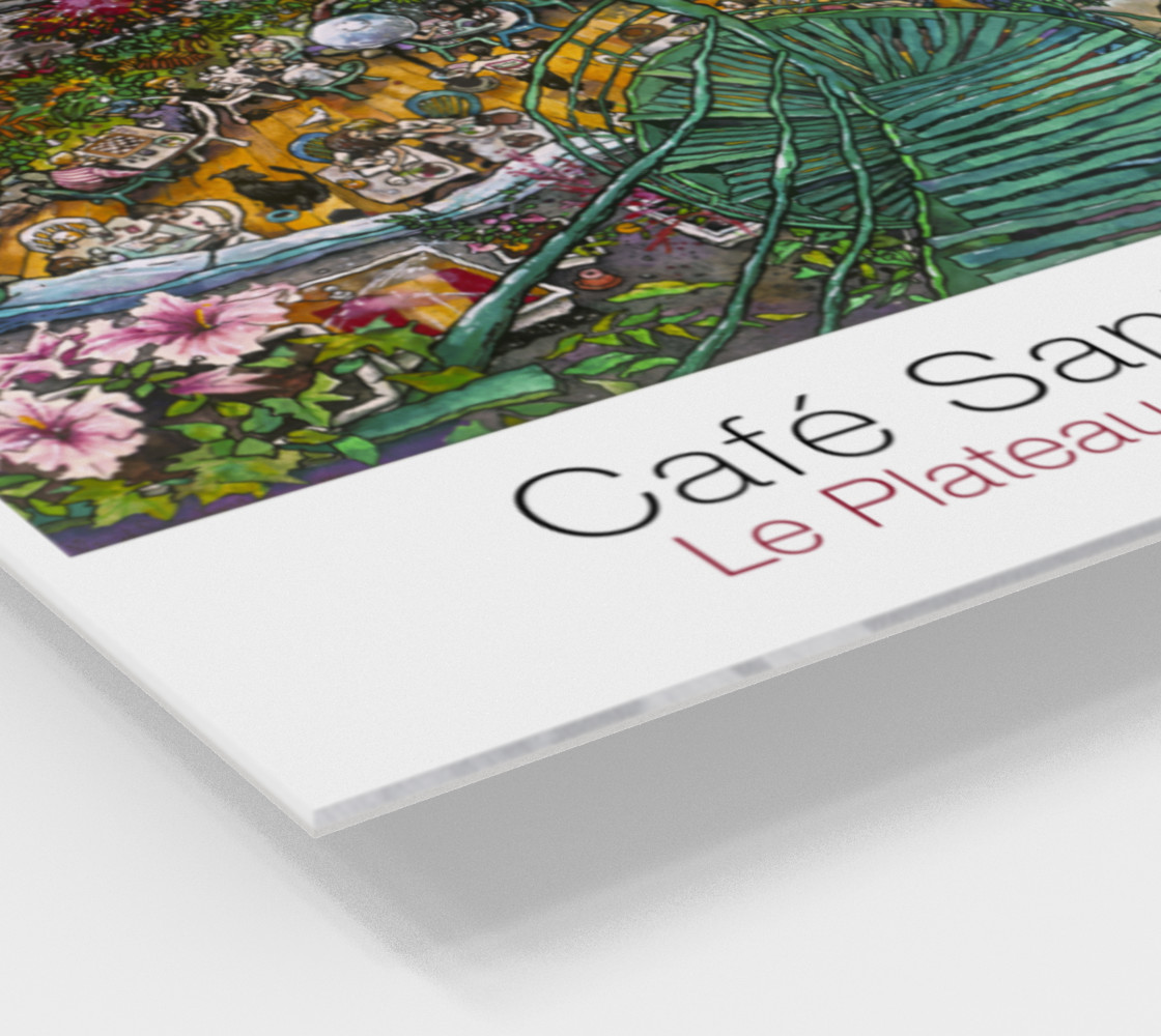 Aperçu de Cafe Santropol - Terrace & Mountain View #2