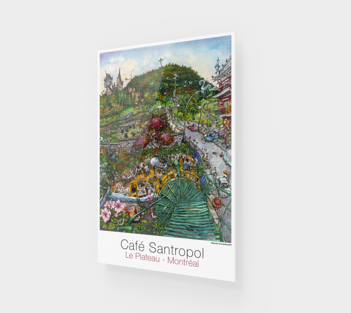 Aperçu de Cafe Santropol - Terrace & Mountain View #1