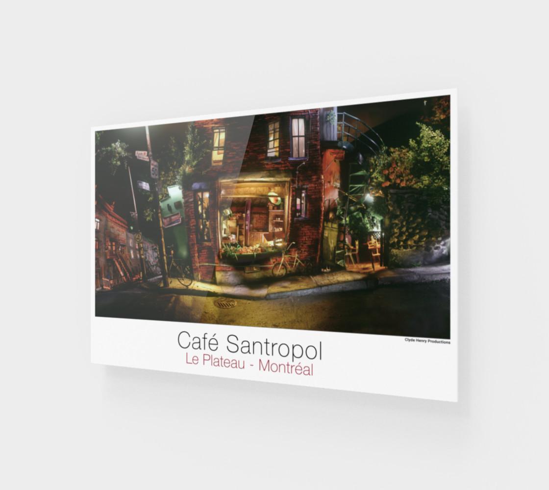 Aperçu de Cafe Santropol - Saint - Urbain & Duluth - Night View! #1