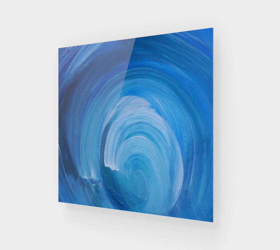 WhirlWave Painting by Janet Gervers Miniature #2
