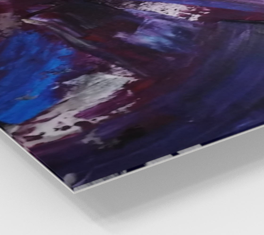 Energy Shift Wave - Abstract Painting by Janet Gervers preview #2