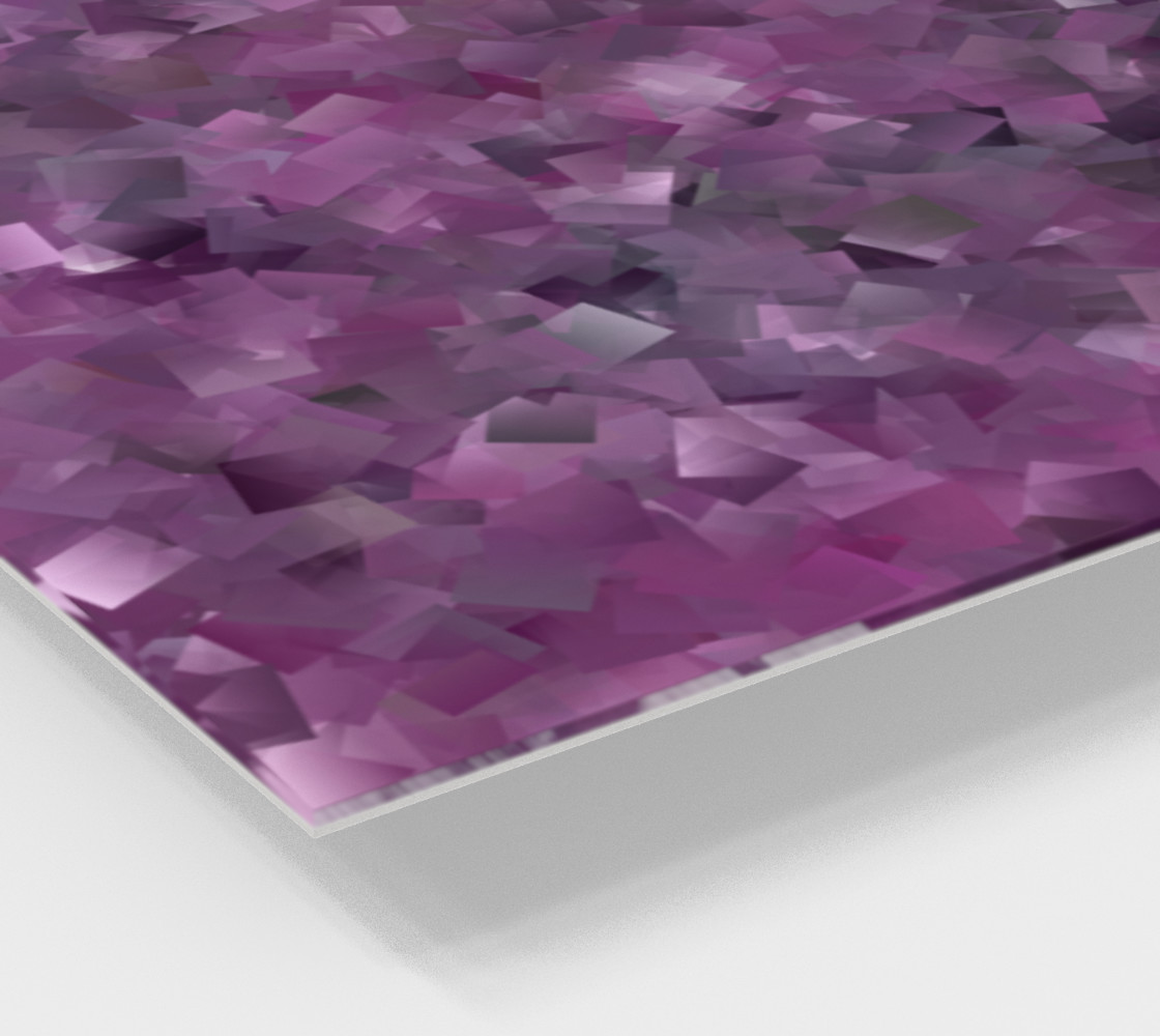 Muted Mauve In Cubes preview #2