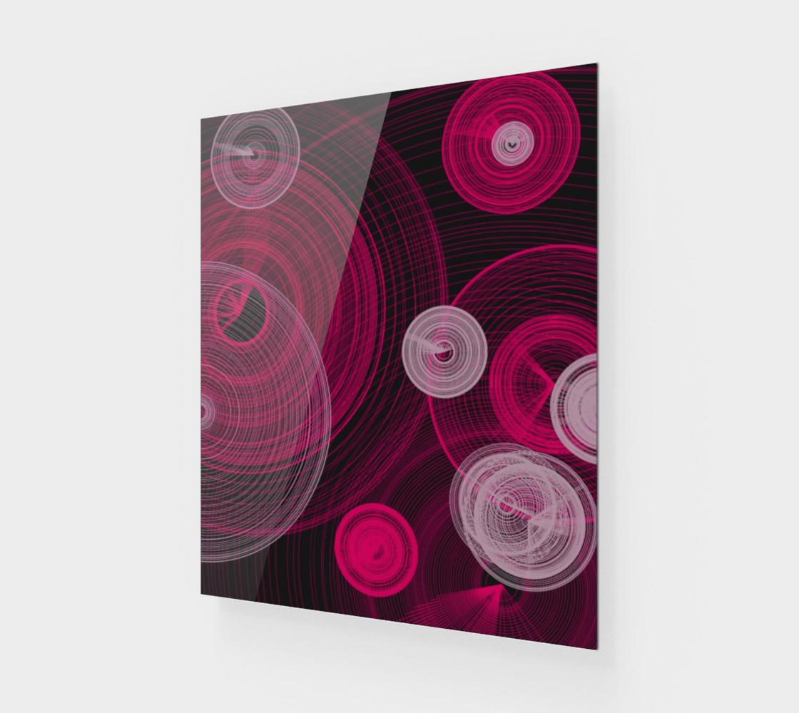 "Circles Wall Art 20"" x 24"" preview #1"