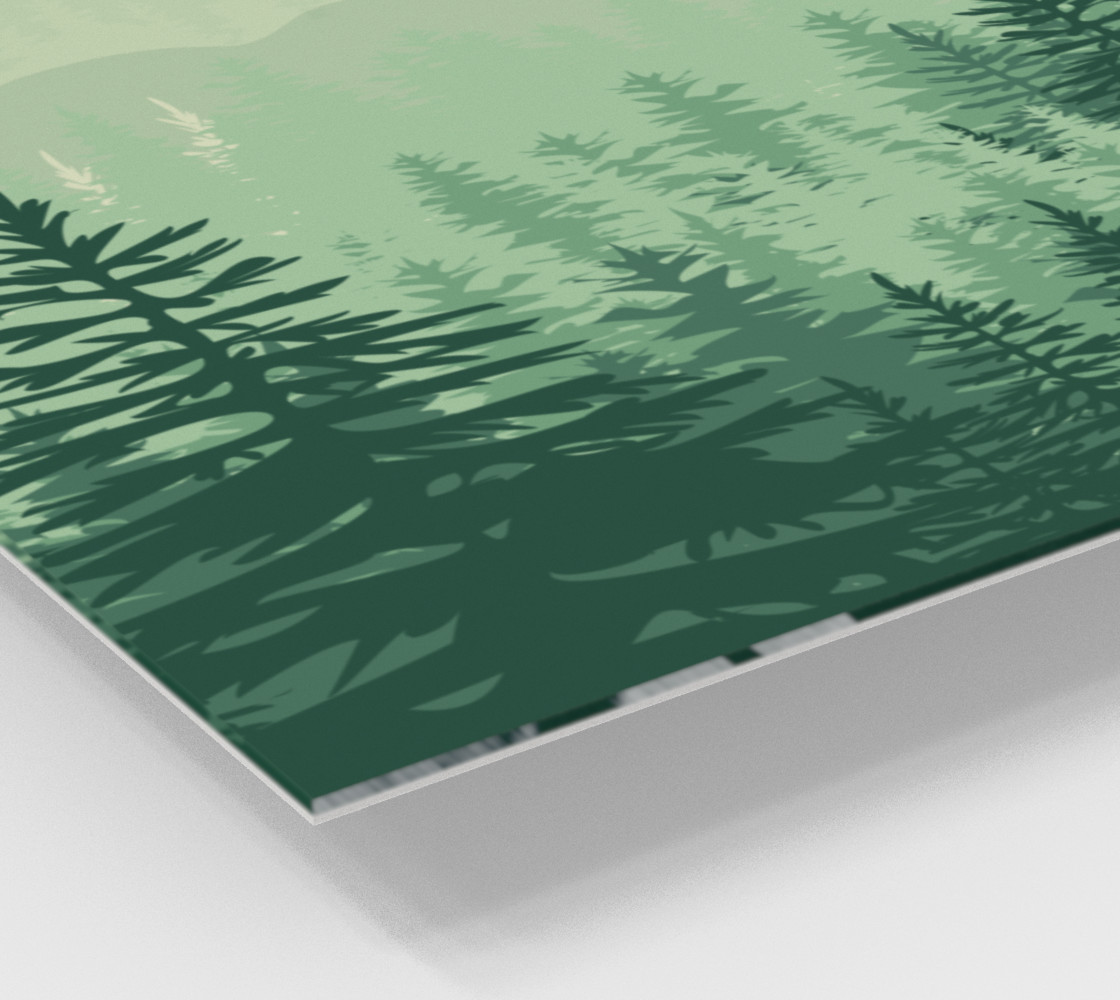 Forest Pine Art Print preview #2