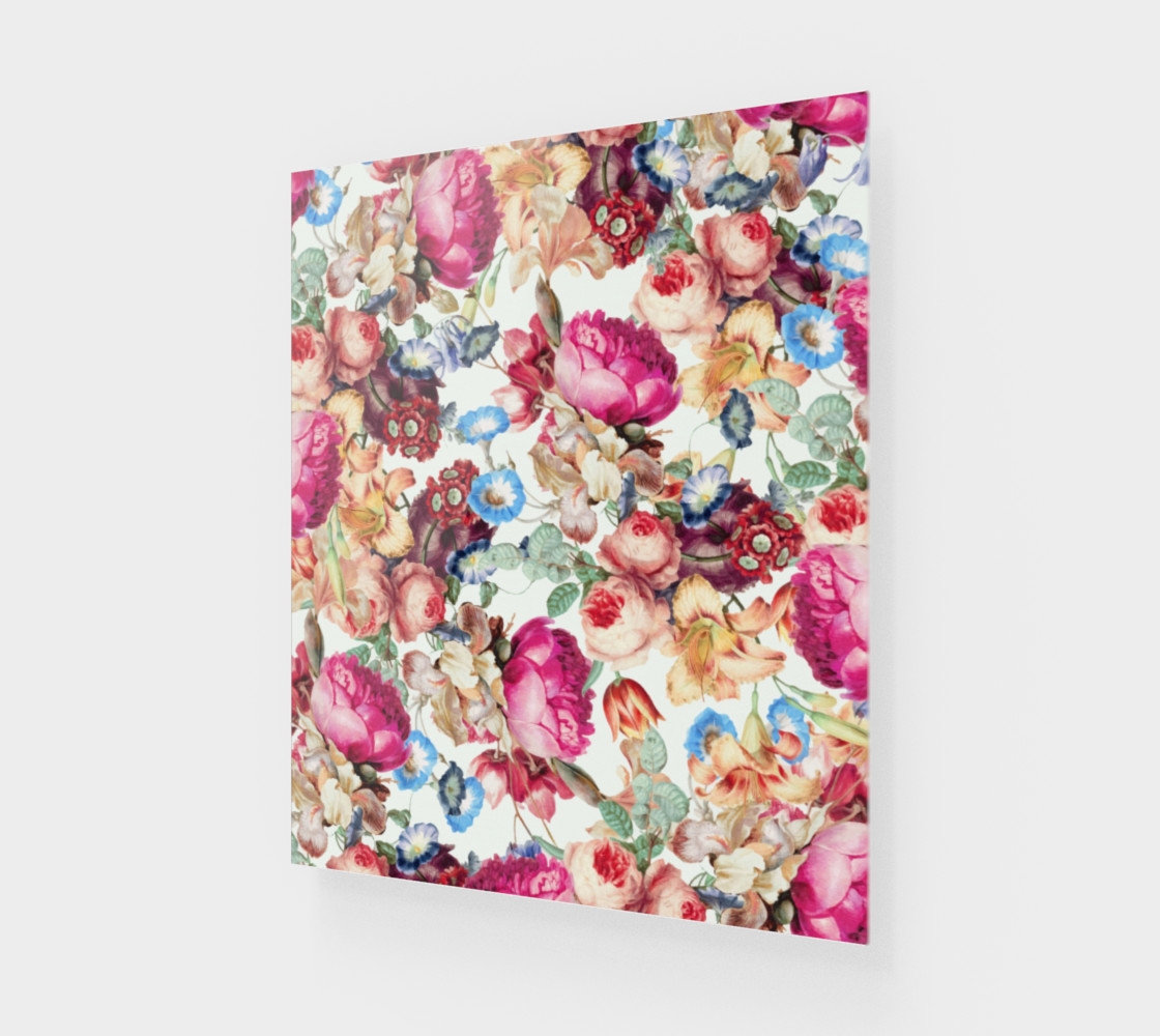 Aperçu de Floral Crush Poster 20x24 #1