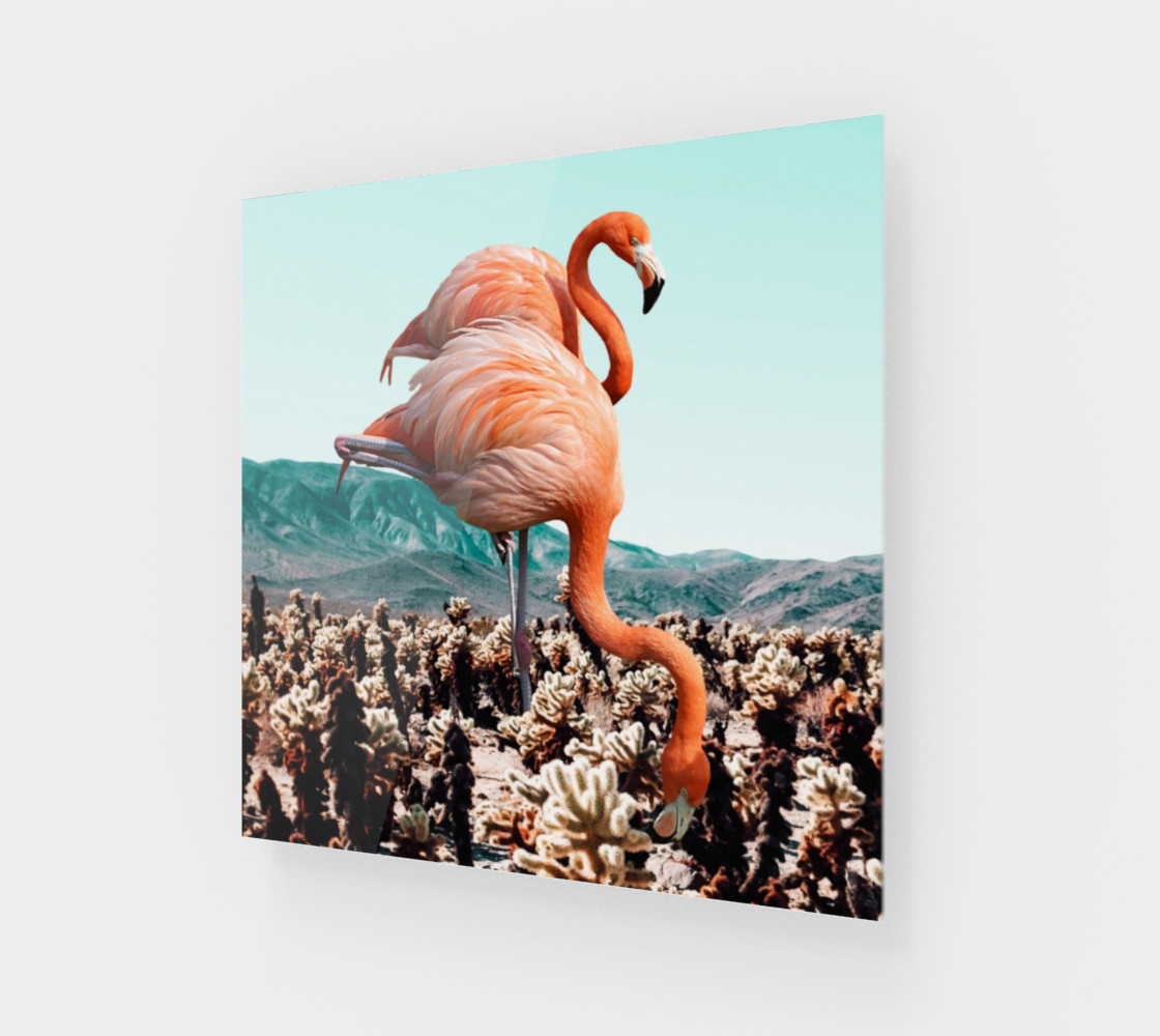 Flamingos In The Desert preview #1