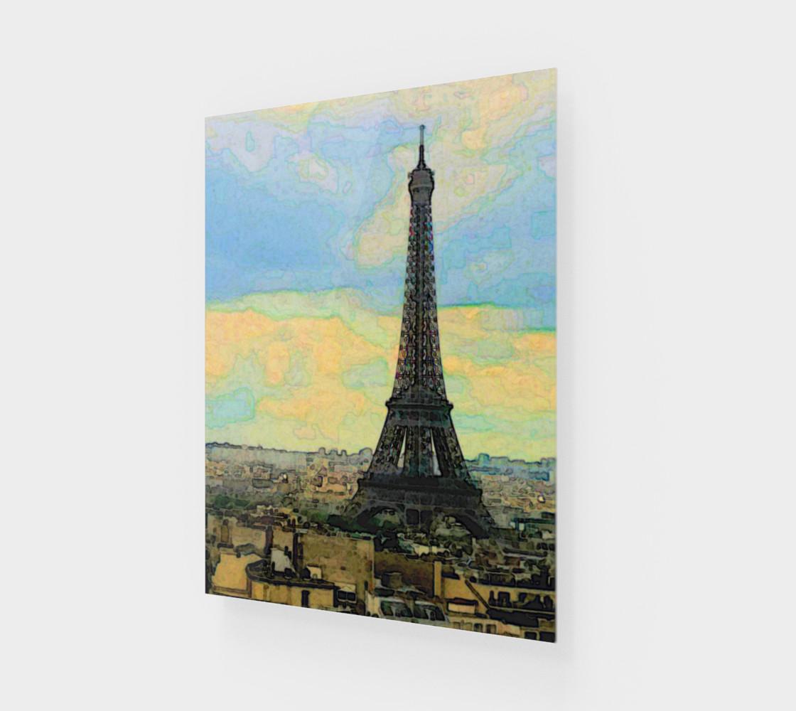 Aperçu de Watercolor Dream of Paris #1