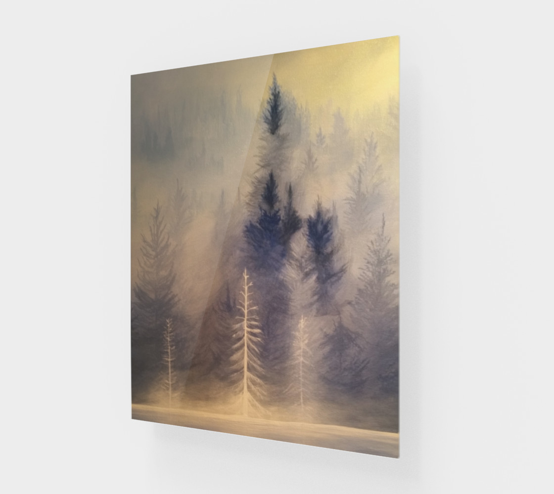 Spirit Trees on wood preview #1