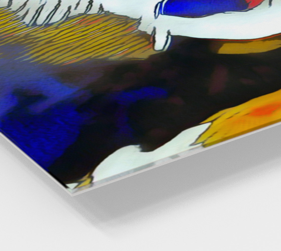 Abstract Koi preview #2