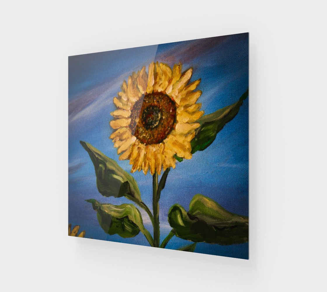 Sunflower Sky Wall preview #1