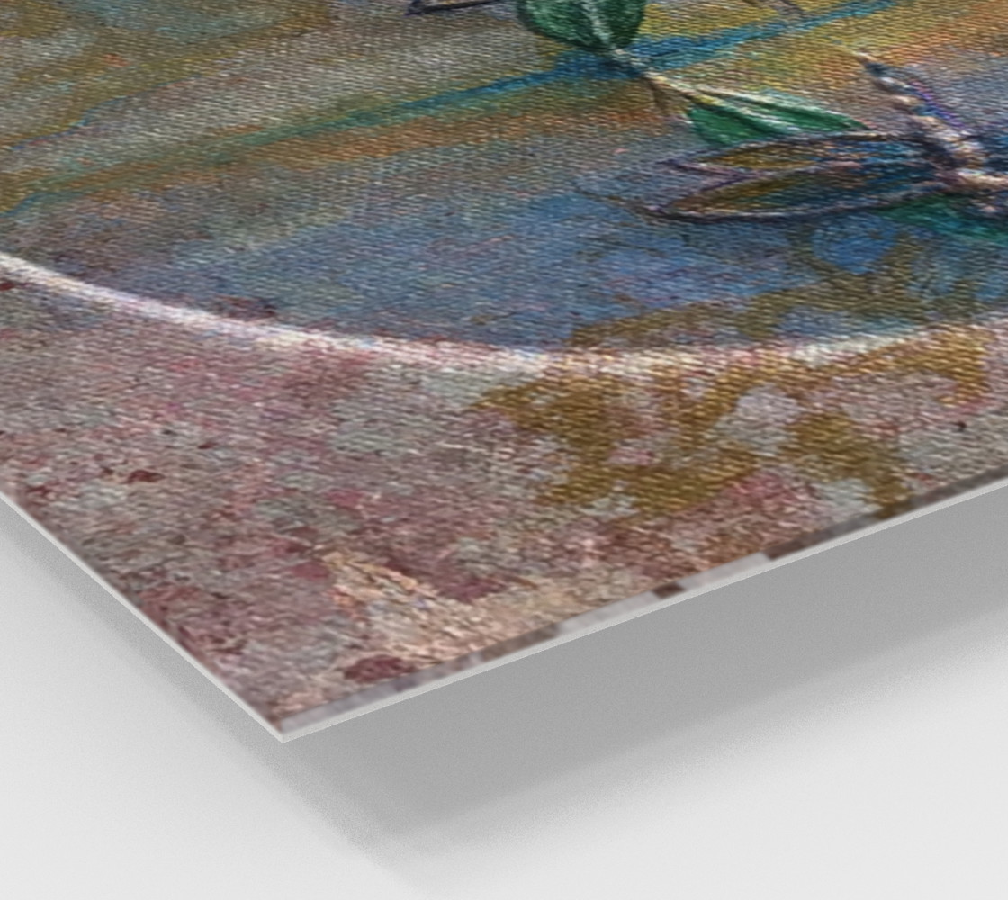 Reflecting Dragonflies Wall Art preview #2