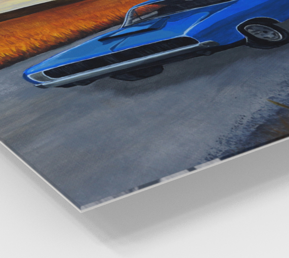 Dodge Charger Wall Art preview #2