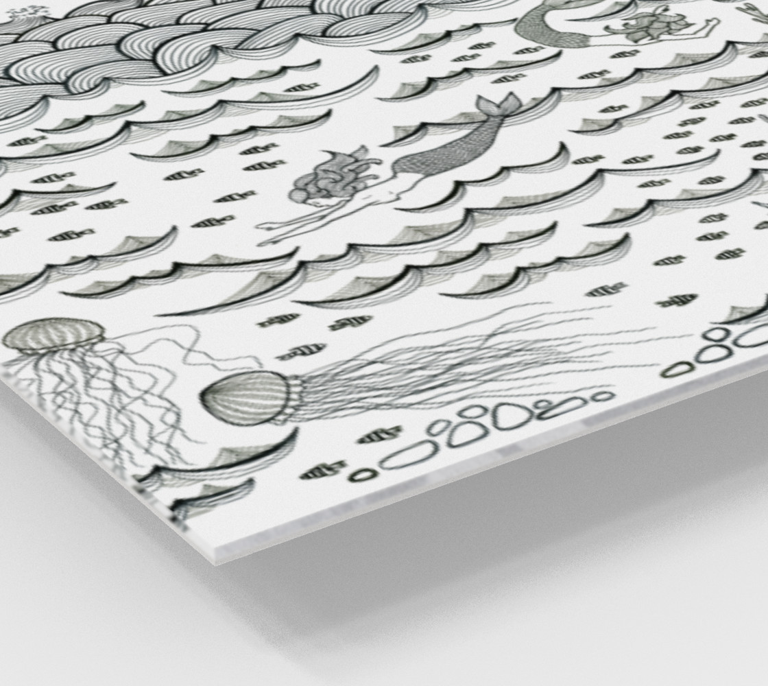 Mermaid print preview #2