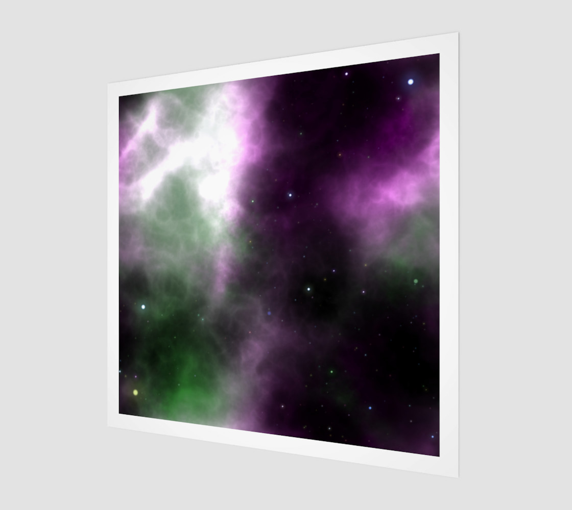 Purple Space Nebula preview #1
