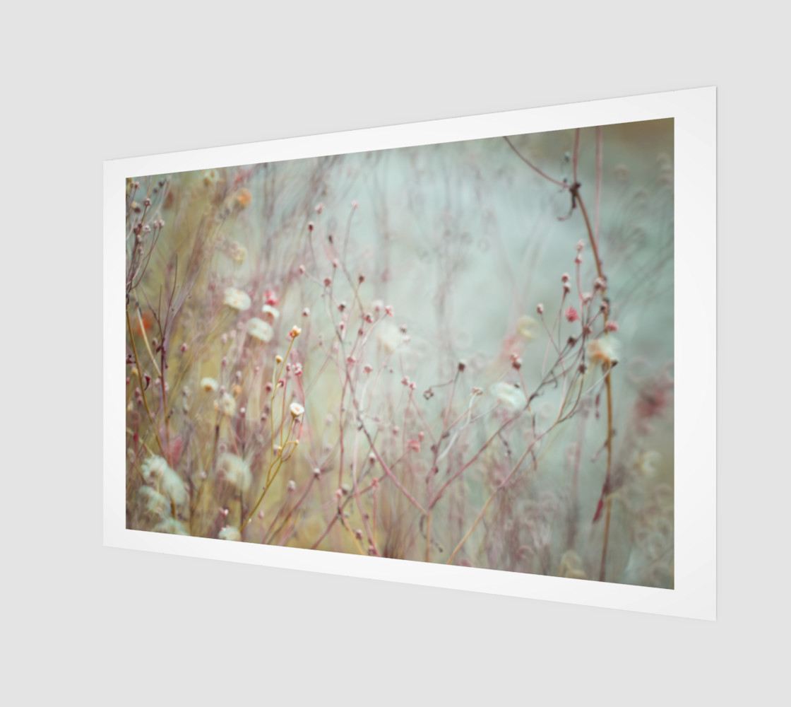 WILD PLANT PINK TURQUOISE ONE 3D preview