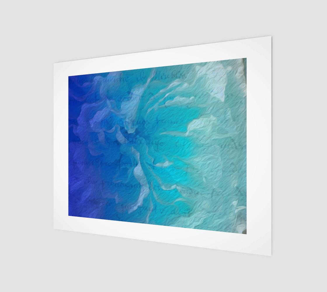 Aperçu de Blue I So Hope 14 x 11 Print #1