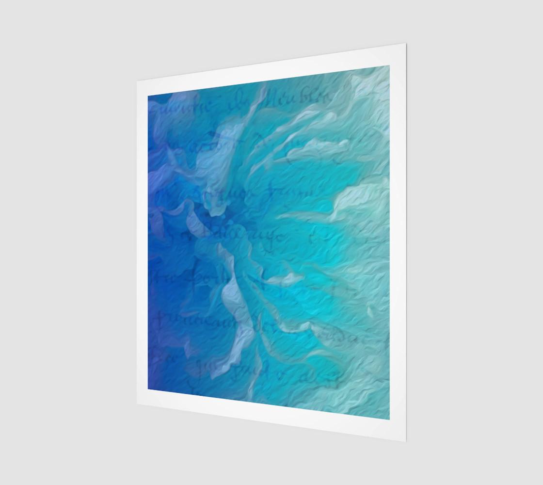 Blue I So Hope 20 x 24 Print preview #1