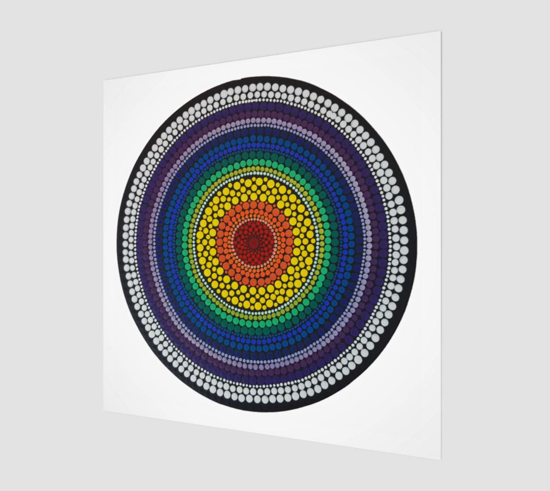 Rainbow Art Print preview #1
