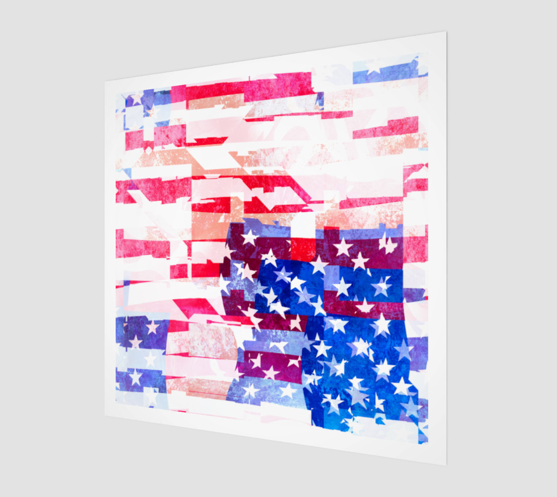 American Flag Collage preview #1