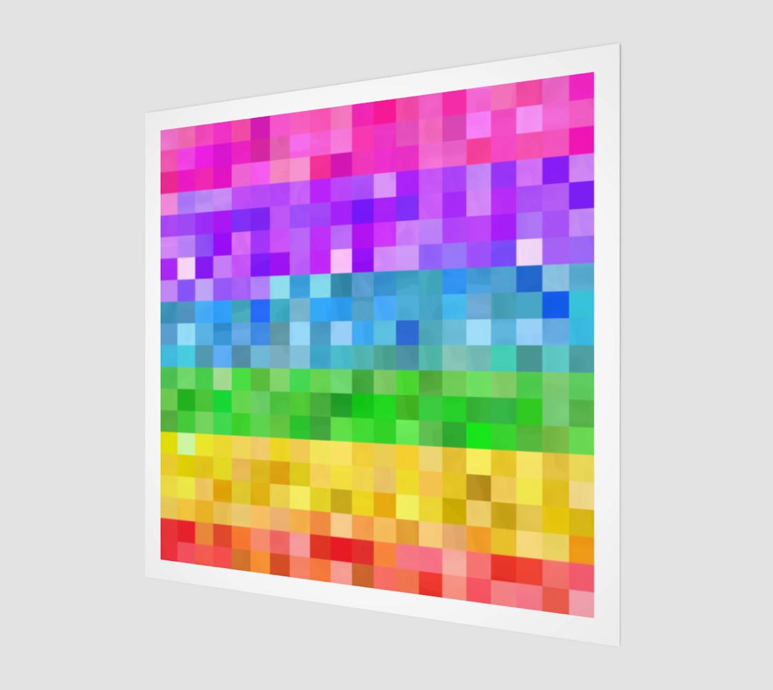 Rainbow Pixels preview #1