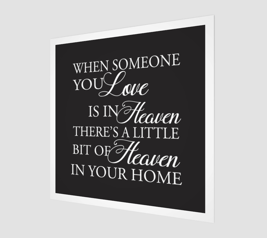 When someone you love is in Heaven preview #1