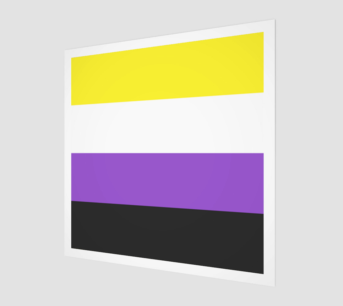 Nonbinary LGBT Wall Art preview #1