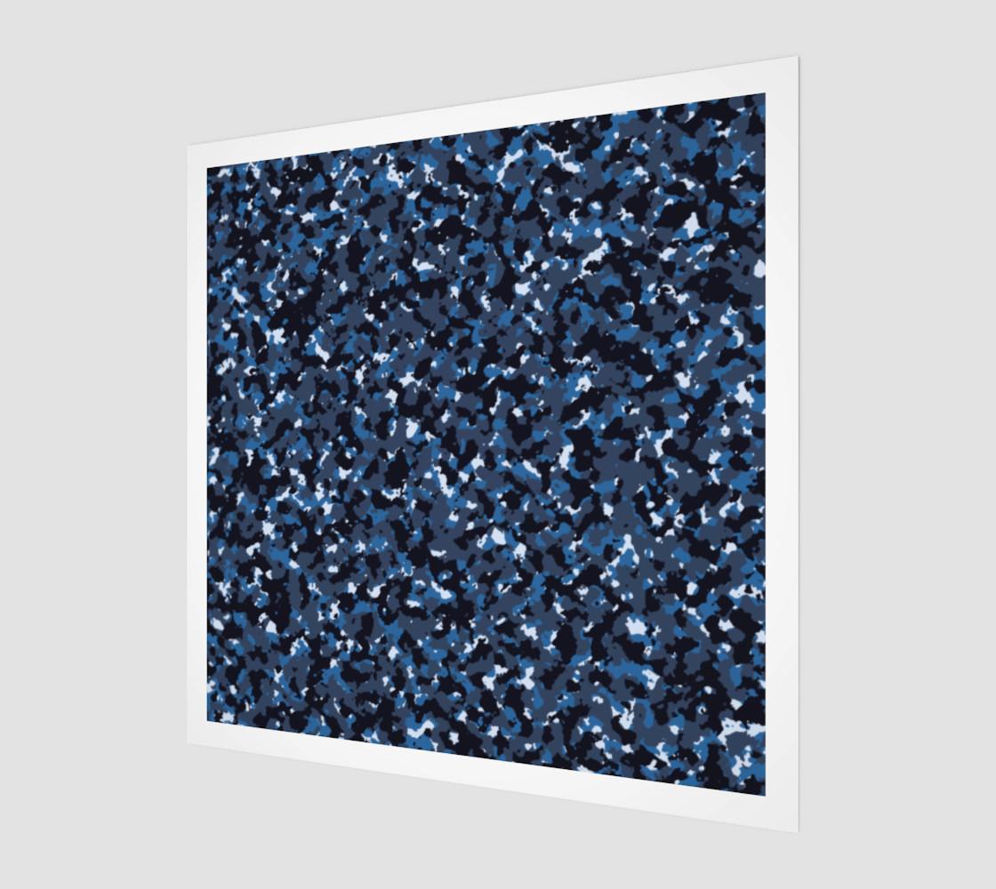 Aperçu de abstract blue camo #1