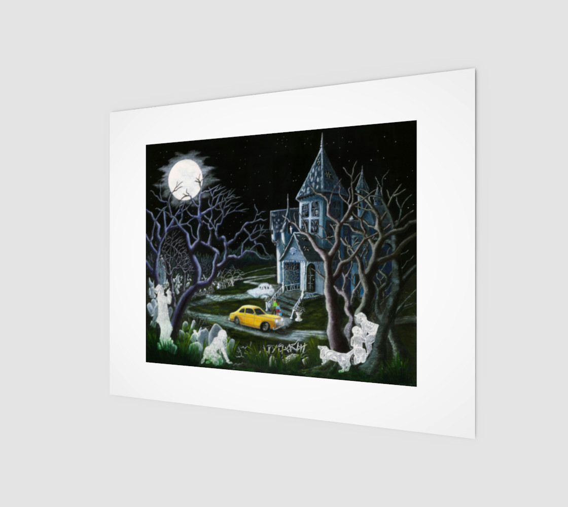 8 x 10 Haunted Inheritance wrapped canvas preview #1