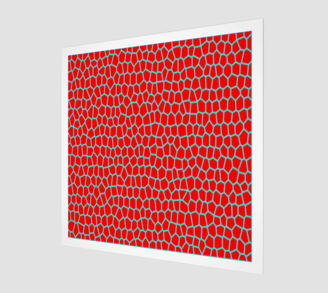 Red abstract preview #1