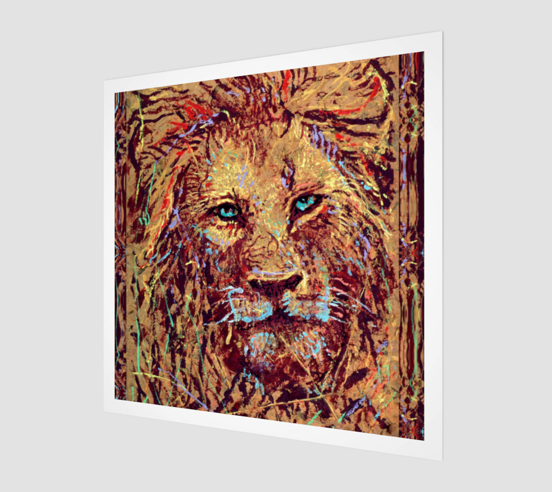 Aperçu de King Leo Close-up Fashion-Match / Virtual-Frame-In-Print #1