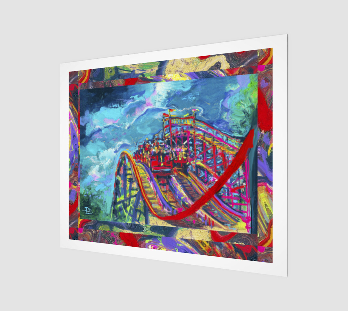 Roller Coaster Circus Fashion-Match / Virtual-Frame-in-Print preview #1