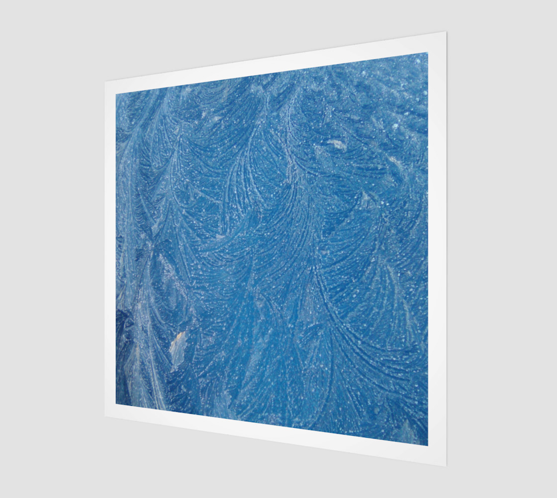 Frost Feathers in Blue preview #1